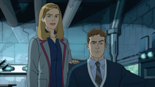 Jemma and Leo in Ultimate Spider-Man