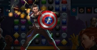 Peggy in Marvel Puzzle Quest