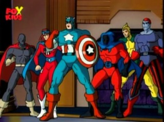 The Six Forgotten Warriors in Spider-Man: The Animated Serie