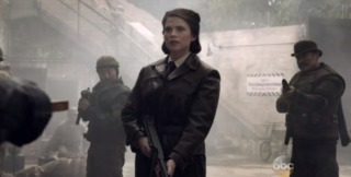 Peggy and the Howling Commandos in Agents of Shield