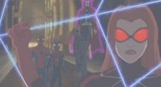 Madame Web with the Web of Life