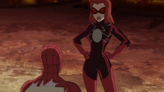 Madame Web in Ultimate Spider-Man