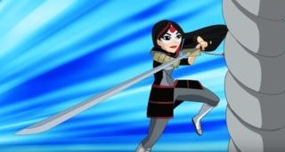 Katana in DC Super Hero Girls