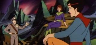 Zod, Faora and Ursa in Superman