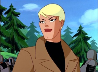 Maggie Sawyer in Superman: The Animated Serie