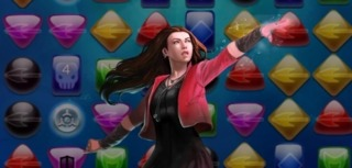 Scarlet Witch in Marvel Puzzle Quest