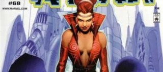 Jean Grey as the Red Queen