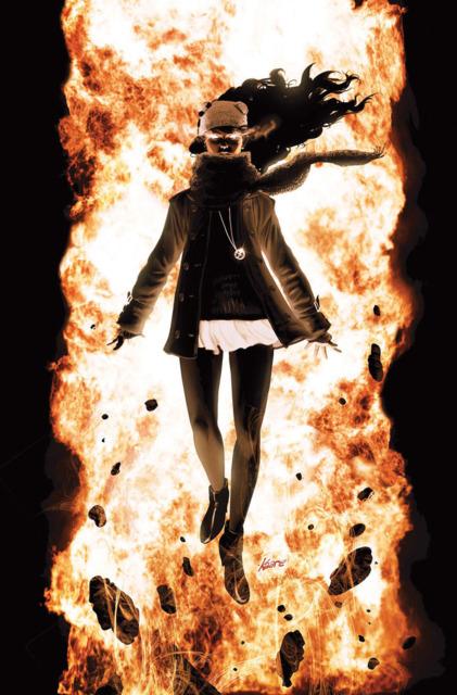 Jean Grey as Karen Grant in Ultimate X-men