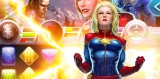 Captain Marvel in Marvel Puzzle Quest