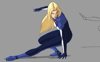 Invisible Woman in Fantastic Four: World's Greatest Heroes