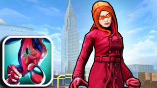Madame Web in Spider-Man Unlimited