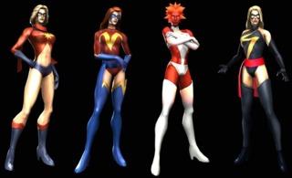 Ms Marvel in Marvel Ultimate Alliance