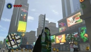 Gamora in Lego Marvel Super Heroes