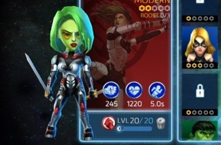 Gamora in Marvel Mighty Heroes