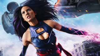 Olivia Munn as Psylocke in X-Men: Apocalypse