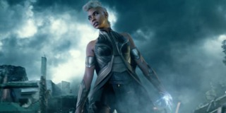Alexandra Shipp as Storm in X-Men: Apocalypse
