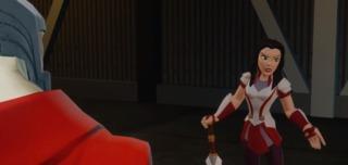 Sif in Disney Infinity: Marvel Super Heroes