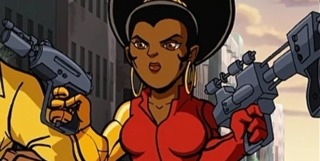 Misty Knight in Marvel Super Hero Show