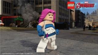 Jessica Jones in Lego Marvel's Avengers