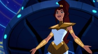 Athena in Justice League Action