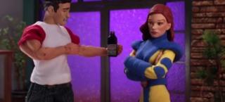 Jean Grey in Robot Chicken