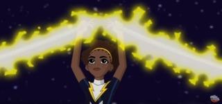 Lightning in DC Super Hero Girls