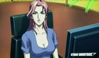 Pepper Potts in Iron Man: Anime