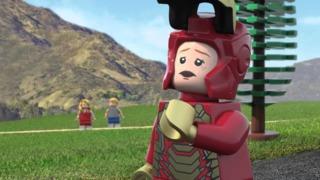 Pepper Potts in Marvel Lego Super Heroes: Maximum Overload