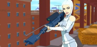 Silver Sable in Spider-Man: The Animated Serie
