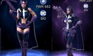Huntress in DC Legends