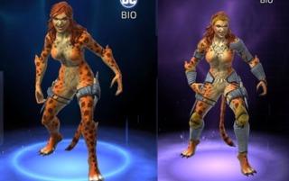 Cheetah in DC Legends