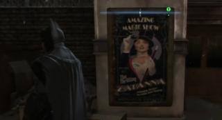 A Zatanna poster from Batman Origin