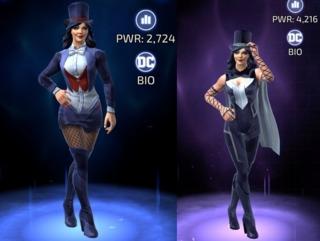 Zatanna in DC Legends