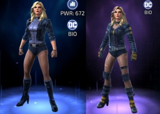 Black Canary in DC Legends