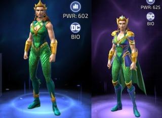Mera in DC Legends