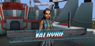 Valkyrie in Marvel Avengers Academy