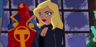 Black Canary in Justice League Action