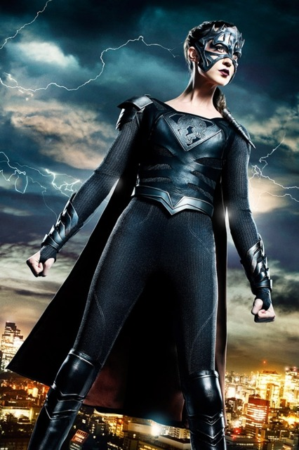 Odette Annable as Reign in Supergirl