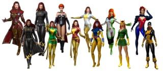 Jean Grey in Marvel Heroes