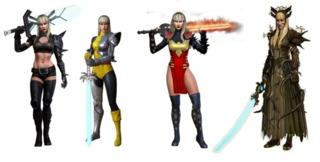 Magik in Marvel Heroes