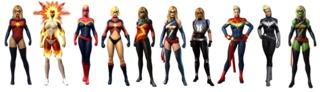 Captain Marvel/Ms. Marvel in Marvel Heroes