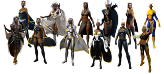 Storm in Marvel Heroes