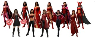 Scarlet Witch in Marvel Heroes