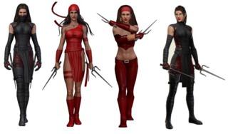 Elektra in Marvel Heroes