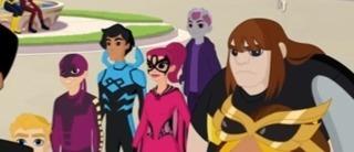 Black Orchid in DC Super Hero Girls: Super Hero High