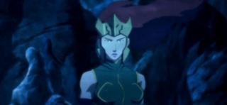 Mera investigating the death of a few dead Atlanteans