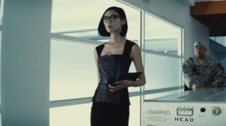 Tao Okamoto as Mercy Graves in Batman V Superman: Dawn of Justice