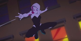 Ghost Spider in Marvel Rising: Secret Warriors