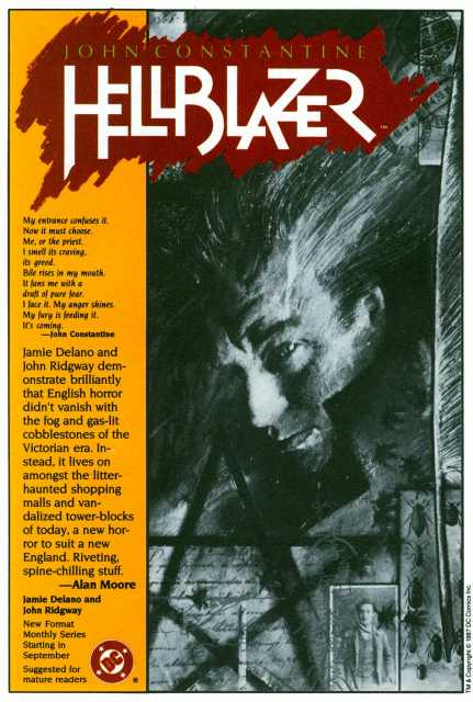 House Ad (art by Dave McKean)