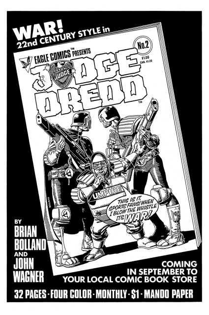 Original Eagle Comics Ad